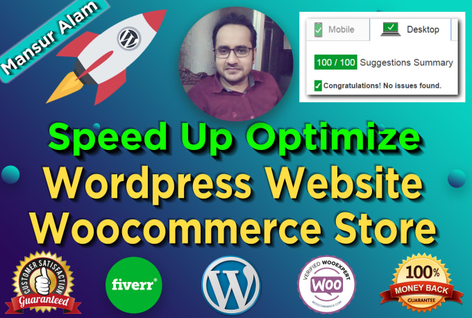 I will speed up and optimize wordpress website, woocommerce website