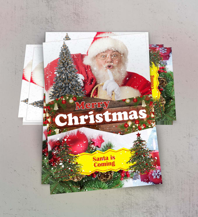 Christmas Flyers.Demonmitch I Will Design Stunning Christmas Flyers In 24 Hours For 5 On Www Fiverr Com