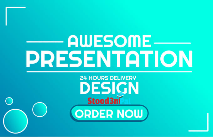 design an awesome creative powerpoint and PDF presentation for you