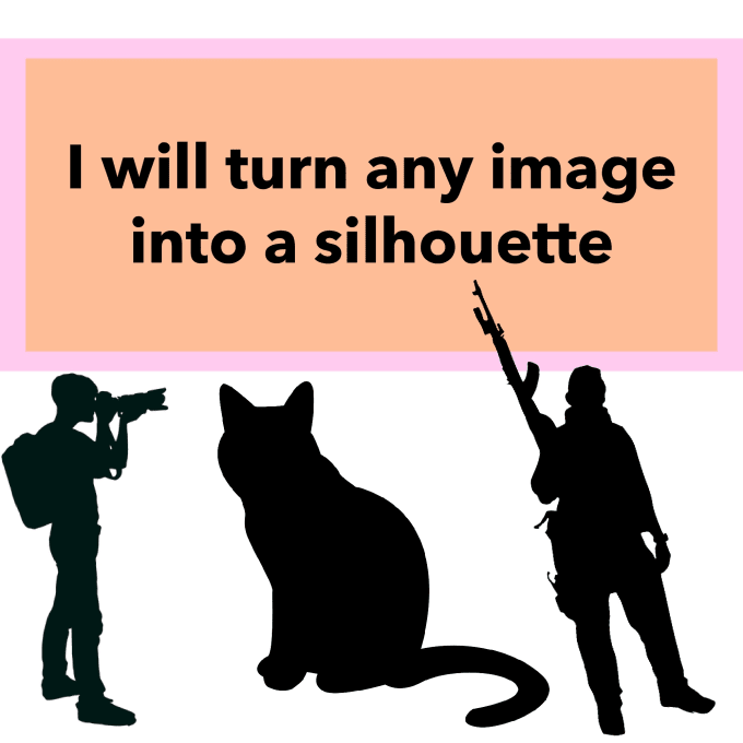 Turn Any Image Into A Silhouette By Angvish