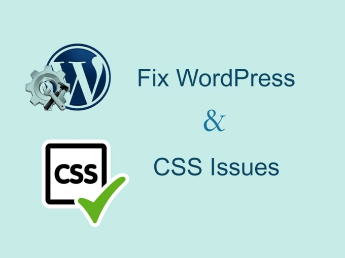 Fix all wordpress and css bugs issues on your website by Apu