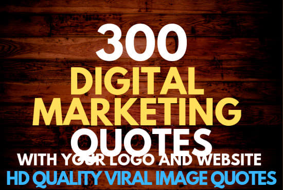 design digital marketing quotes logo for socialmedia by