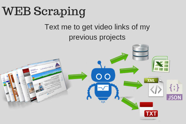 do data scraping, mining,scripting,crawler, automation,extraction