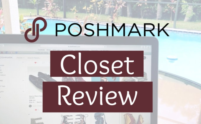 review your poshmark closet and give feedback