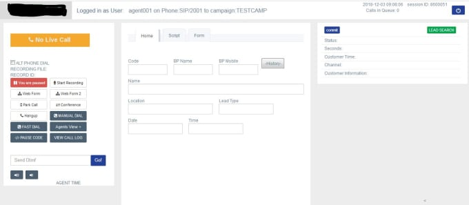 Install and setup your call center on vicidial or goautodial