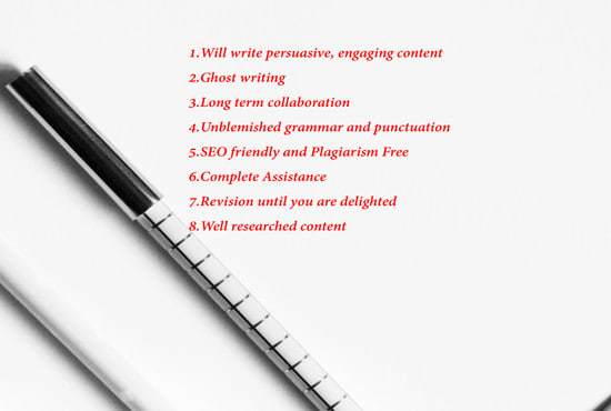 do SEO article, blog and content writing