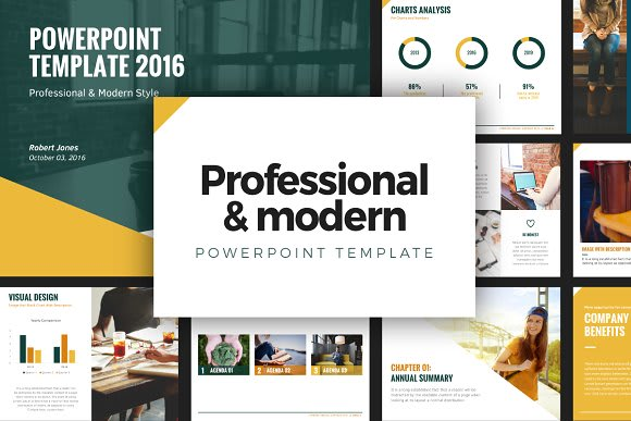 Design Professional And Modern Minimalist Powerpoint By Writerpro247