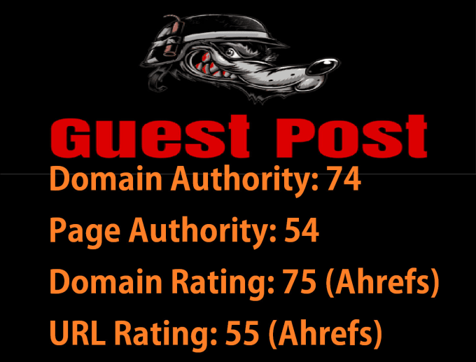 guest post on a magazine blog da 80 google approved
