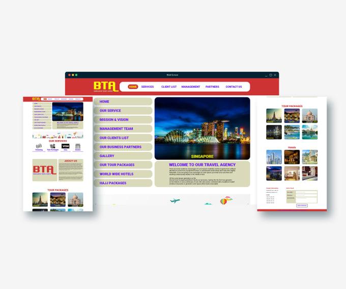 design professional web ui and PSD mockup templates