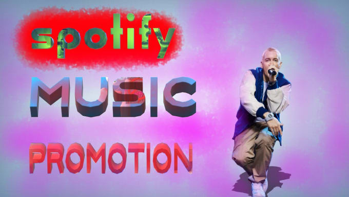 do soundcloud, spotify music promotion for more plays
