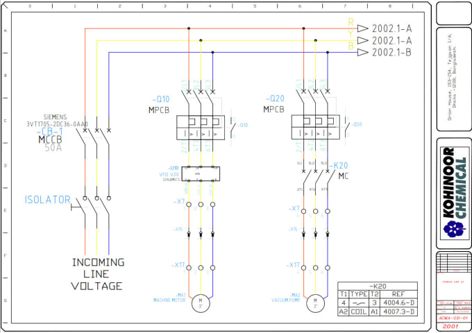 Do Professionally All Electrical Drawings Using Autocad