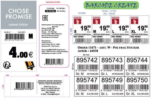 barcode design for you any format