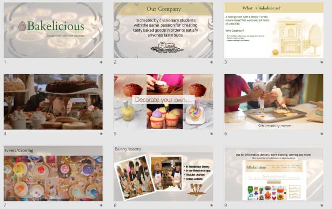 design the most creative powerpoint presentation by erisdesign