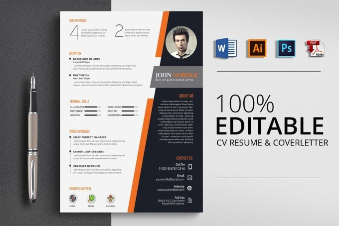 data entry professional web research CV design cover letter