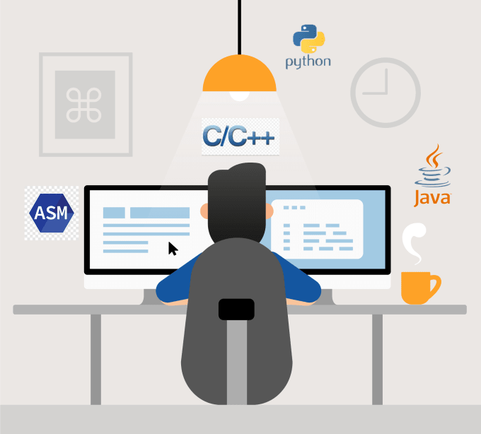 code for you in java, python, c and assembly language
