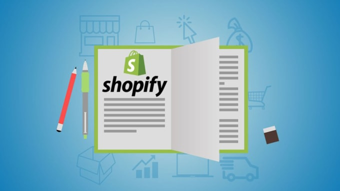 create a professional and high converting shopify store