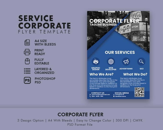 create business flyer in 24 hrs by tuangrafik