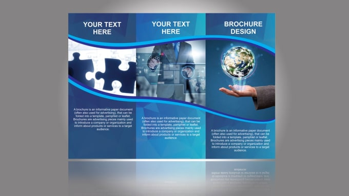 design a professional brochure for you by ssfdesign