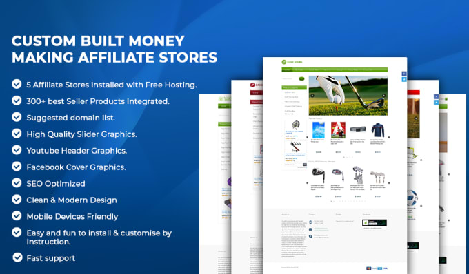 create high quality profitable affiliate sites from scratch