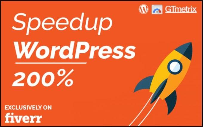 I will do wordpress rocket speed optimization service to make website faster