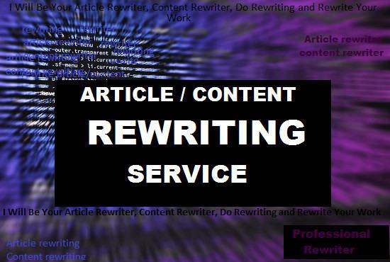 Be Your Article Rewritercontent Rewriterdo Manual Rewrite By  I Will Be Your Article Rewritercontent Rewriterdo Manual Rewrite