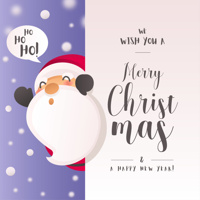 create invitations and christmas cards design
