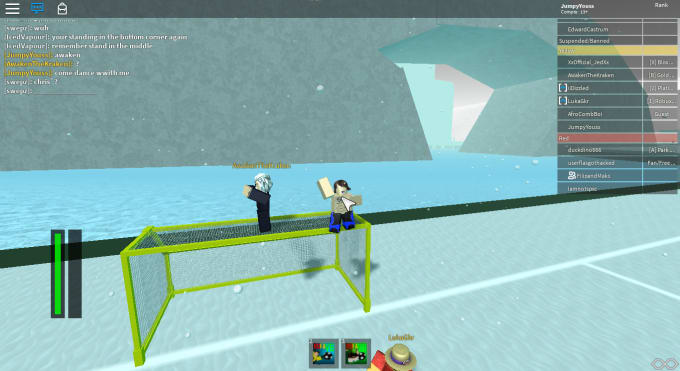 jumpyyoussrblx : I will teaching roblox rofa soccer skillz for $5 on  www fiverr com