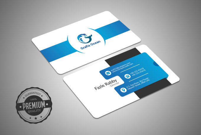 Design Modern And Professional Business Cards In 24 Hours By
