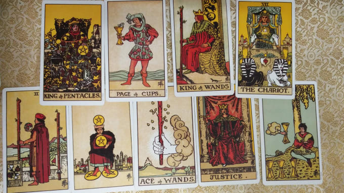 blessedtarot : I will do 2019 reading with tarot cards for $30 on  www fiverr com