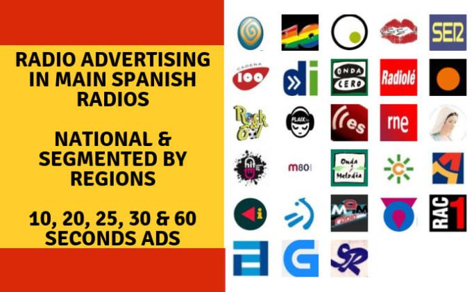 radio advertising in main spanish radios