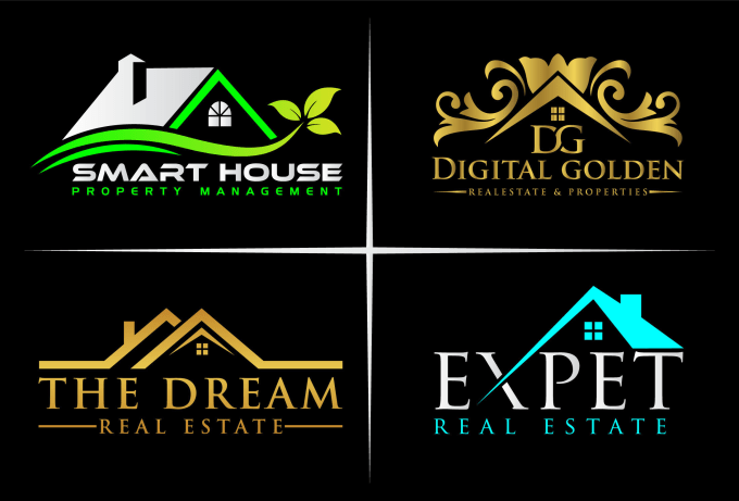Design Real Estate Property And Construction Company Logo By