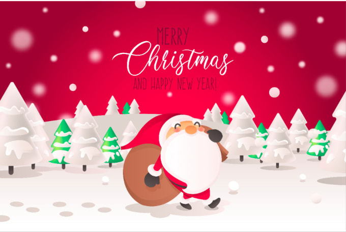 Unique Christmas Cards.Design Amazing Unique Christmas Card For You
