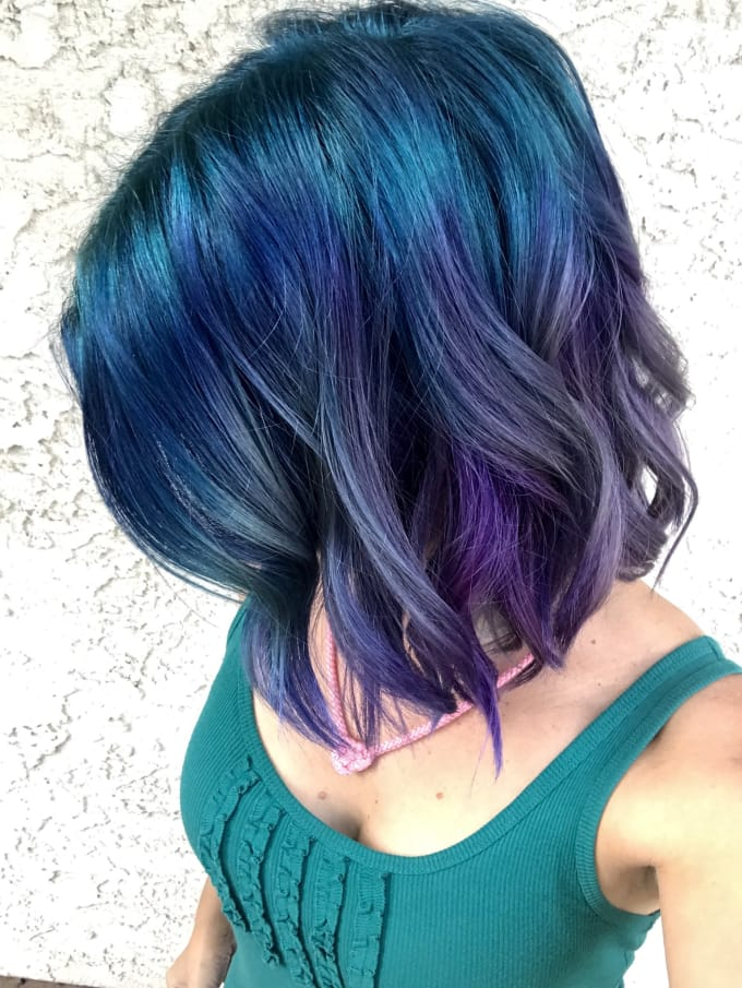give you personalized unconventional hair color advice