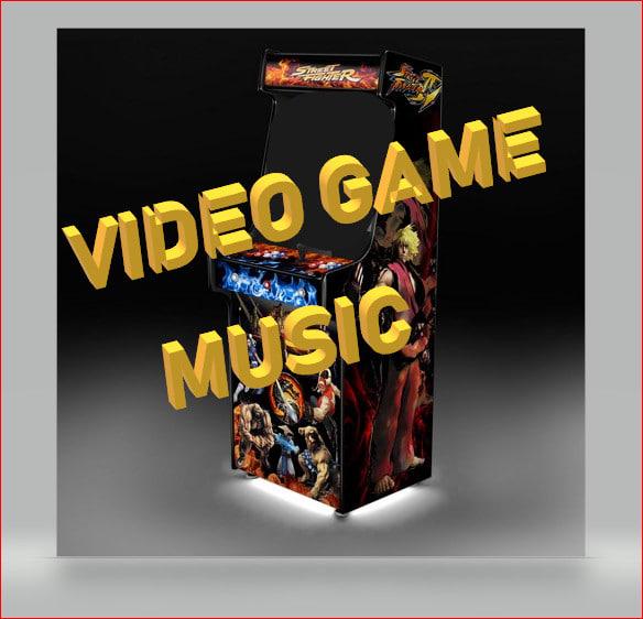 custom background music for game app or youtube video