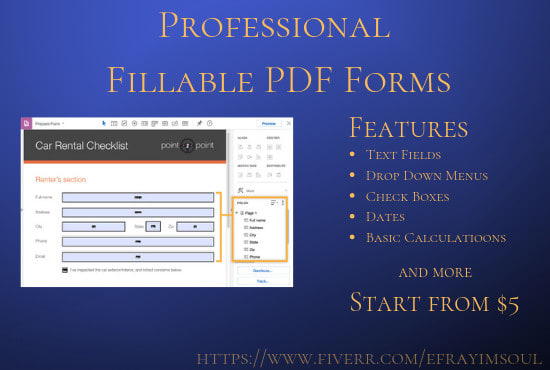how to convert word document into fillable pdf form