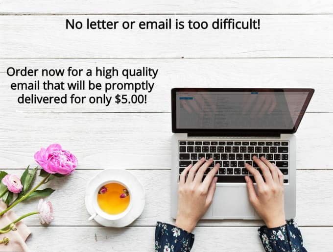 Write Any Type Of Official Or Personal Email Or Letter