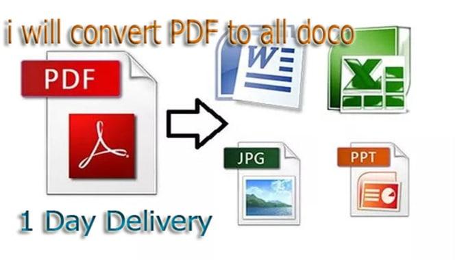 Pdf extension word