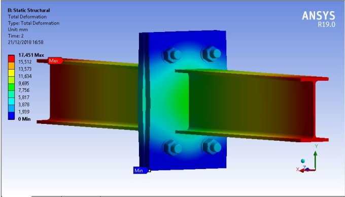 help you in finite element simulations using ansys and inventor