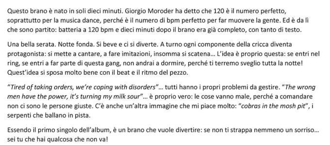 Traduzione testi da italiano all inglese by lorenzoborgato for Traduzione da inglese a italiano