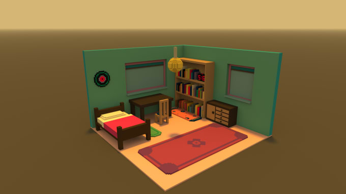 elviss : I will create a voxel 3d model for you for $15 on www fiverr com