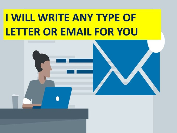 Write Any Type Of Official Letter Or Email
