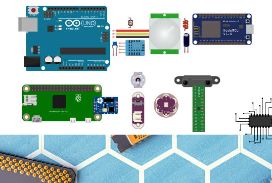 help you with your arduino, iot, esp8266, python projects