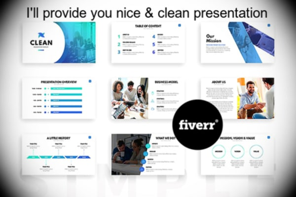 make a nice looking powerpoint presentation and assignment