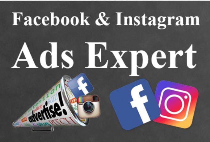 run facebook ads and instagram ads