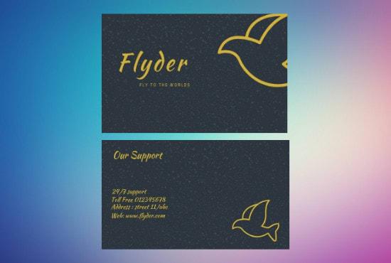 Design A Business Card By Webloper