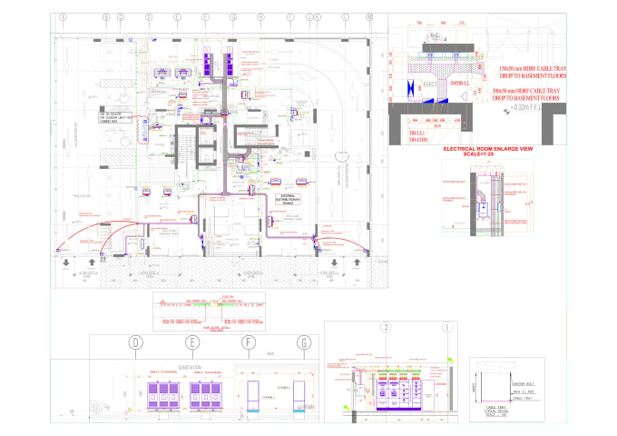 Pleasing Draw Your Architectural And Mep Floor Plan In Auto Cad 2D By Wiring Database Liteviha4X4Andersnl