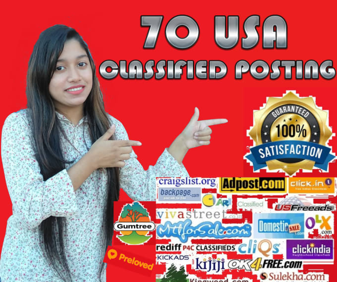 post your ads in 100 USA classified sites