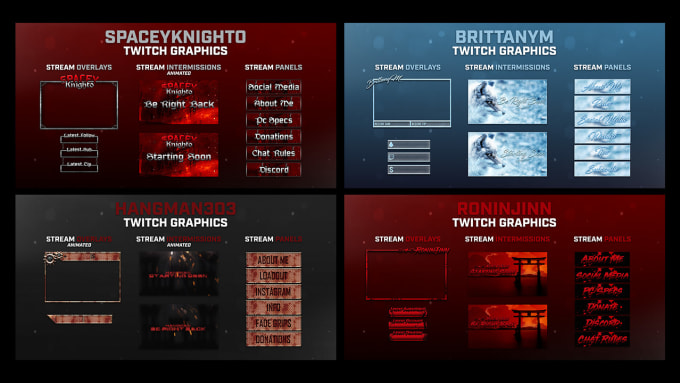 create your twitch branding