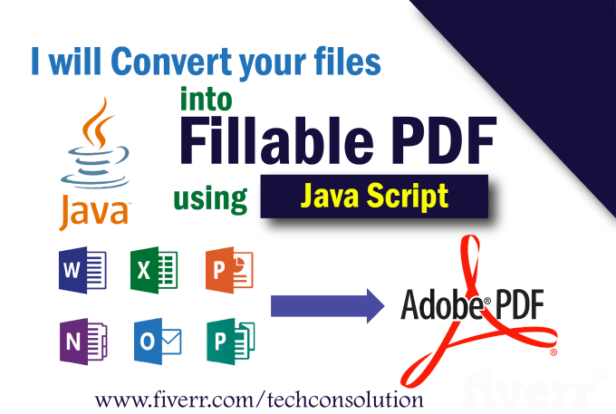 create fillable pdf forms using javascript