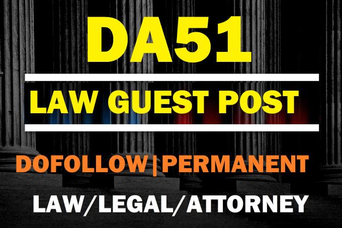 guest post on law,attorney,legal niche da51 blog